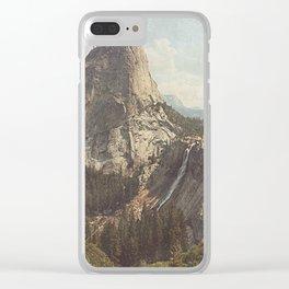 Nevada Falls Yosemite Clear iPhone Case