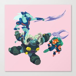 Battle Beasts - Trio 1 Canvas Print