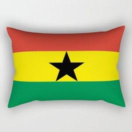 Flag: Ghana Rectangular Pillow