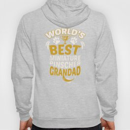 World's Best Miniature Pinscher Grandad Hoody