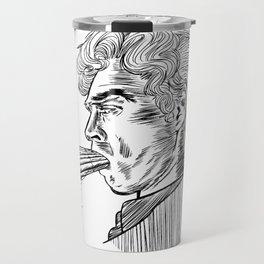 London Smoking Habit (Lineart) Travel Mug