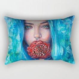 Rose Trap Rectangular Pillow