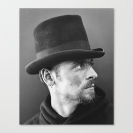 Chimney sweeper Lee. Canvas Print