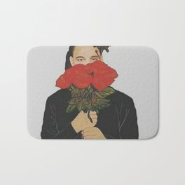 the weeknd art Bath Mat