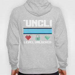 New Fun Uncle Gift Funcle Level Unlocked for Gamer Hoody
