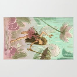 Goblins Drool, Fairies Rule! - Dewdrop Shower Rug