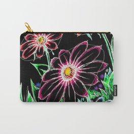 """""""Wildflowers"""" Inverted Carry-All Pouch"""