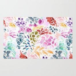 cornelia. watercolor florals. Rug