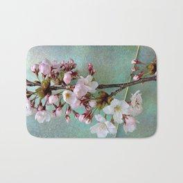 "Cherry blossoms on ""Wa-shi""  -桜に和紙 Bath Mat"