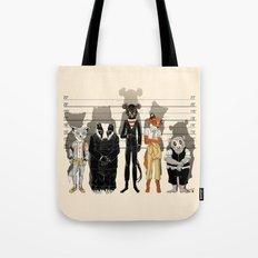 Unusual Suspects Tote Bag