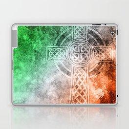 Irish Celtic Cross Laptop & iPad Skin