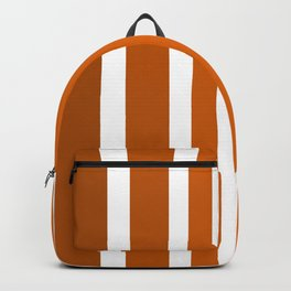Striped Ombre in Orange Backpack