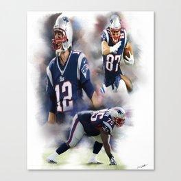 patriots nation Canvas Print