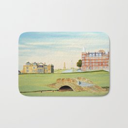 St Andrews Golf Course 18th Hole Bath Mat