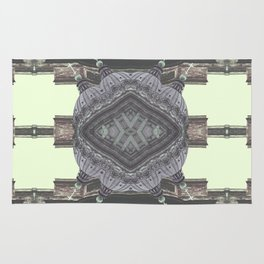 Architecture psychedelic Rug