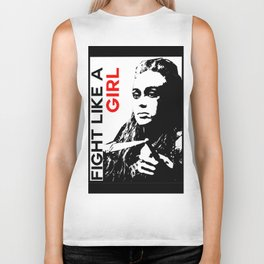 Fight Like A Girl (Lexa) Biker Tank