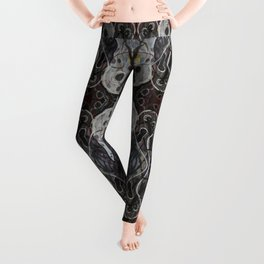 Ghosts Emerging Leggings