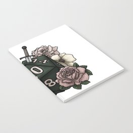Rogue Class D20 - Tabletop Gaming Dice Notebook