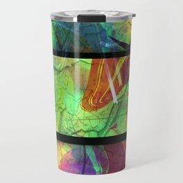 Painted Panes Abstract Travel Mug