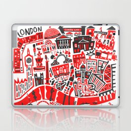 London Map Laptop & iPad Skin