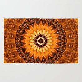 Mandala egypt sun no. 2 Rug