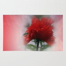 missing poppies -1- Rug