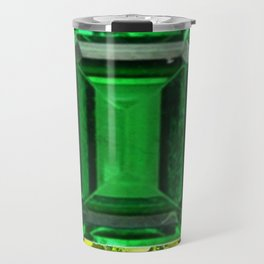 EMERALDS &  LIME GREEN PERIDOT GEMS BIRTHSTONES Travel Mug
