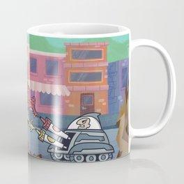 Hot Dog Attack! Coffee Mug