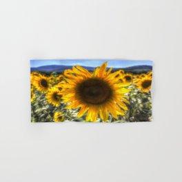 Sunflower Summer Hand & Bath Towel