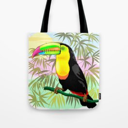 Toucan Wild Bird from Amazon Rainforest Tote Bag