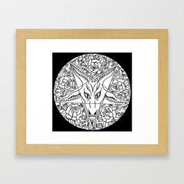 Pentagram'O'Ram Framed Art Print