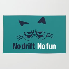 No drift No fun v2 HQvector Rug