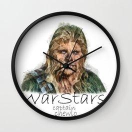 Captain Chewlo Wall Clock