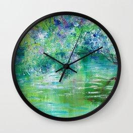 Green River Mystery Wall Clock