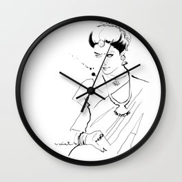 Ethnic Beauty - India Wall Clock