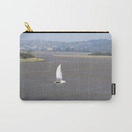 *Sailing into Launceston Tasmania* Carry-All Pouch