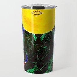Sir/Madam Pompadour - Pop Art Surrealism Travel Mug