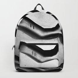 Black rubber tire background Backpack