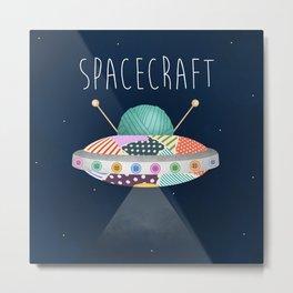 Spacecraft Metal Print