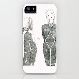 Pink Shibari  iPhone Case