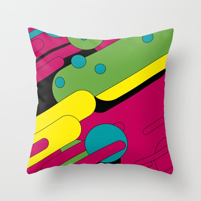 Fantastic Voyage Throw Pillow