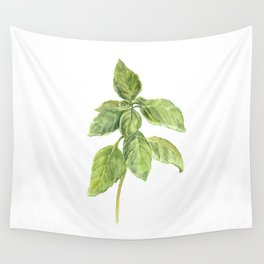 The Basil Plant Wall Tapestry