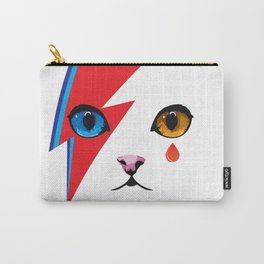 Ziggy Cat- David Meowie Carry-All Pouch