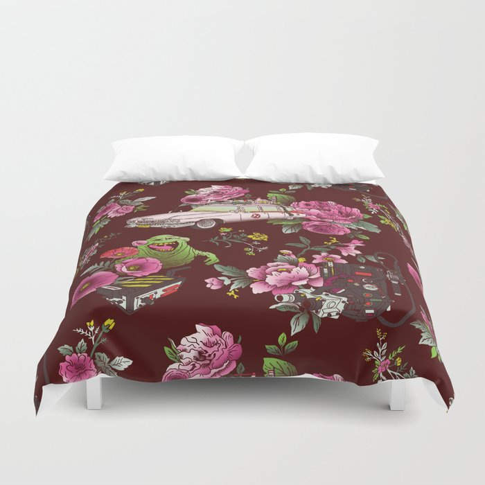 Ecto Floral Duvet Cover