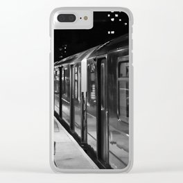 1 at 125 Clear iPhone Case