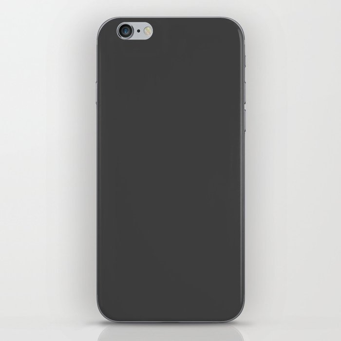 Charcoal Obsession iPhone Skin