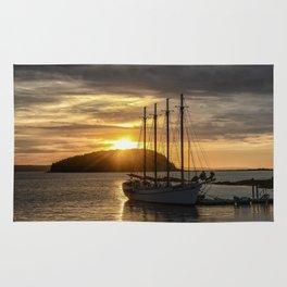 Sunrise Bar Harbor Maine Rug