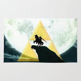 The Horse Of Triforce Rug