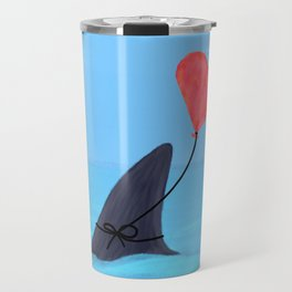 Original Shark Love Design Travel Mug