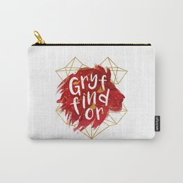 Gryffindor Gold Splatter Carry-All Pouch